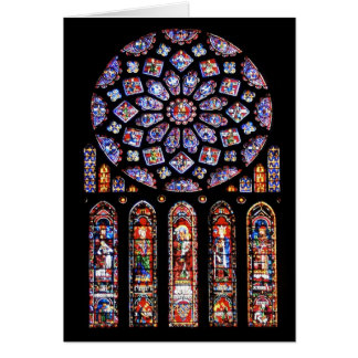 Cathdrale Notre-Dame de Chartres Greeting Cards