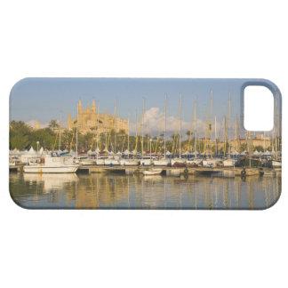 Cathedral and marina, Palma, Mallorca, Spain iPhone 5 Cover