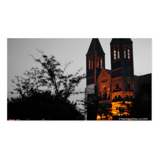 Cathedral at Night Business Card