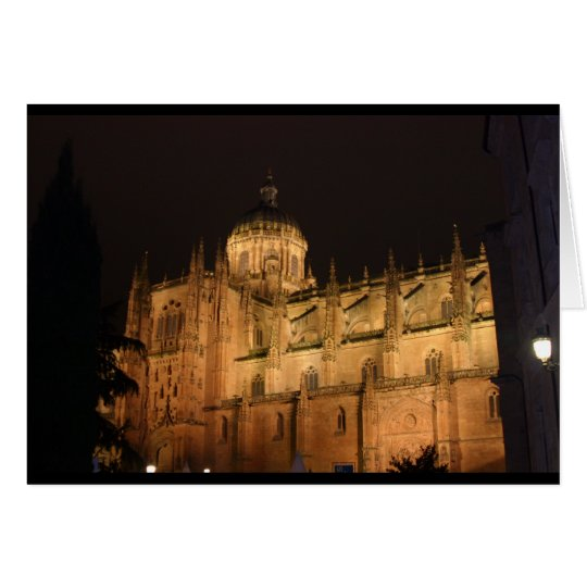 Cathedral at Salamanca Card