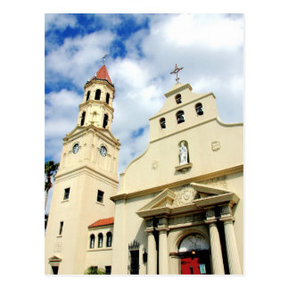 Cathedral Basilica St. Augustine Florida Postcard