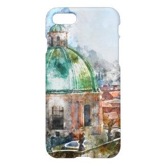 Cathedral Dome in Prague Czech Republic iPhone 8/7 Case