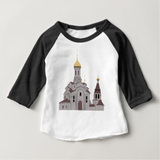 Cathedral Illustration Baby T-Shirt