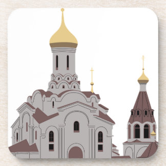 Cathedral Illustration Coaster