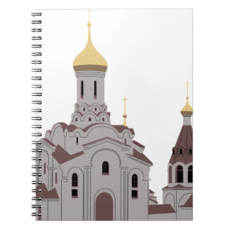 Cathedral Illustration Notebooks