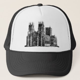 Cathedral Illustration Trucker Hat