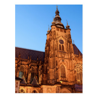 Cathedral in Prague Postcard