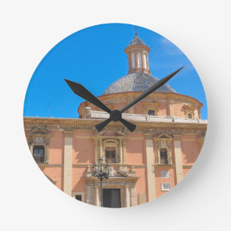 Cathedral in Valencia, Spain Wall Clock