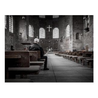Cathedral Interior Postcard