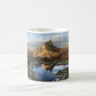 Cathedral Lake and Peak - Yosemite John Muir Trail Coffee Mug