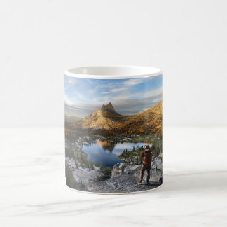 Cathedral Lake / Peak - Yosemite - John Muir Trail Coffee Mug