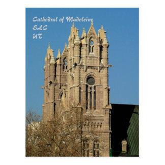 Cathedral of Madeleine Postcard