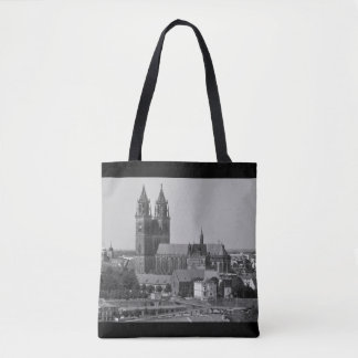 Cathedral of Magdeburg 01.02.F.sw Tote Bag