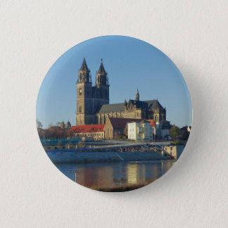 Cathedral of Magdeburg 03.01 6 Cm Round Badge
