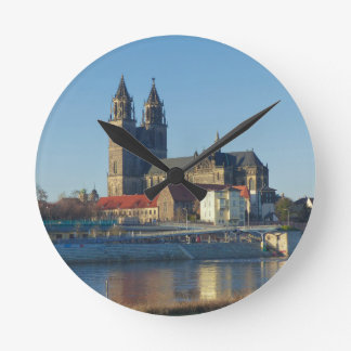Cathedral of Magdeburg 03.01 Round Clock