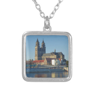Cathedral of Magdeburg 03.01 Silver Plated Necklace