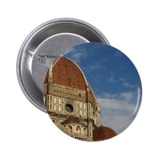 Cathedral of Saint Mary of the Flower in Florence 6 Cm Round Badge