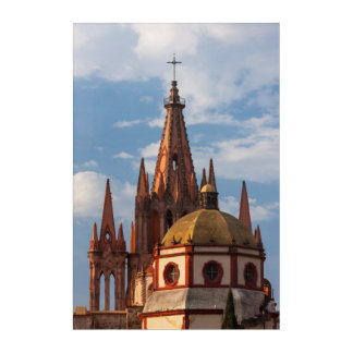Cathedral Of San Miguel Archangel Acrylic Print