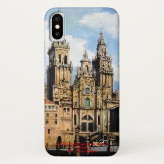 Cathedral of Santiago de Compostela (To Corunna) iPhone X Case