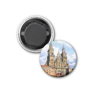 Cathedral of Santiago de Compostela (To Corunna) Magnet