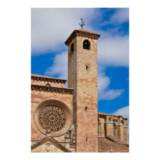Cathedral of Siguenza Poster
