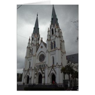 Cathedral of St. John the Baptist (Savannah, Geor Card