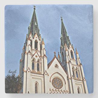 Cathedral of St. John the Baptist, Savannah, Stone Coaster