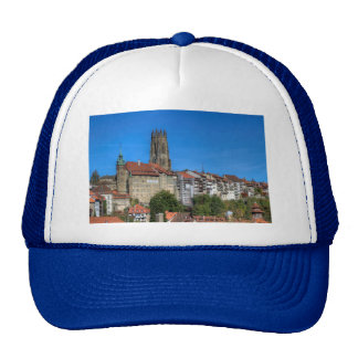 Cathedral of St. Nicholas in Fribourg, Switzerland Cap