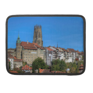 Cathedral of St. Nicholas in Fribourg, Switzerland Sleeve For MacBook Pro