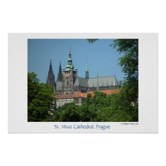 Cathedral of St. Vitus Poster