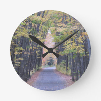 Cathedral Road Round Clock