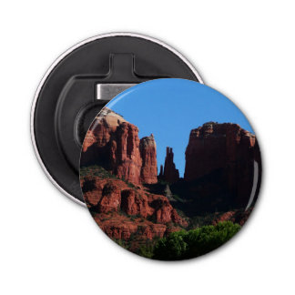 Cathedral Rock in Sedona Arizona Bottle Opener