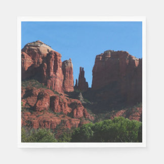 Cathedral Rock in Sedona Arizona Disposable Serviettes