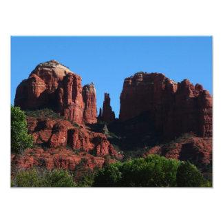 Cathedral Rock in Sedona Arizona Photo Print