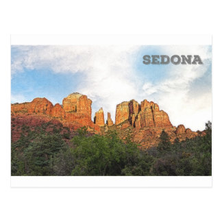 Cathedral Rock - Sedona, AZ Postcard
