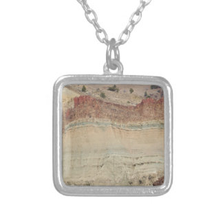 Cathedral Rock Square Pendant Necklace