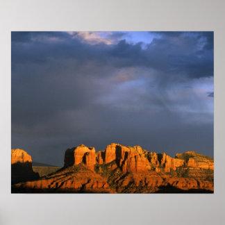 Cathedral Rocks in Sedona Arizona Poster