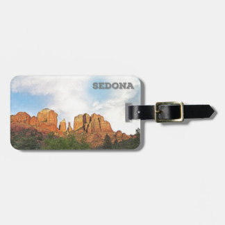 Cathedral Rocks - Sedona, Arizona Luggage Tag