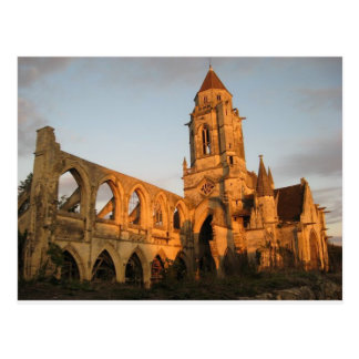 Cathedral Ruins Postcard