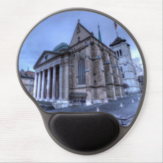 Cathedral Saint-Pierre, Peter, Geneva,Switzerland Gel Mouse Pad