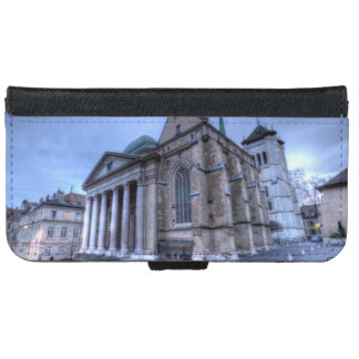 Cathedral Saint-Pierre, Peter, Geneva,Switzerland iPhone 6 Wallet Case