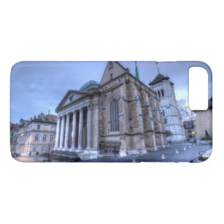 Cathedral Saint-Pierre, Peter, Geneva,Switzerland iPhone 8 Plus/7 Plus Case