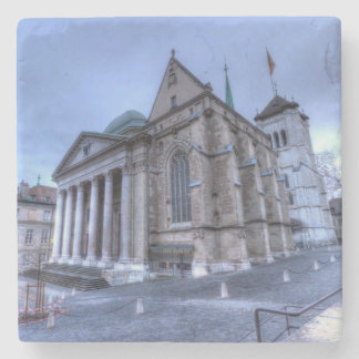 Cathedral Saint-Pierre, Peter, Geneva,Switzerland Stone Coaster