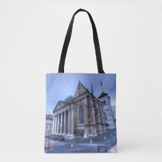 Cathedral Saint-Pierre, Peter, Geneva,Switzerland Tote Bag
