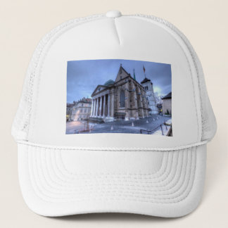 Cathedral Saint-Pierre, Peter, Geneva,Switzerland Trucker Hat