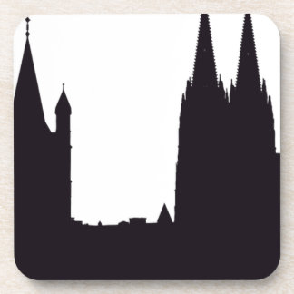 Cathedral Silhouette Coaster