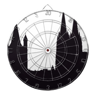 Cathedral Silhouette Dartboard