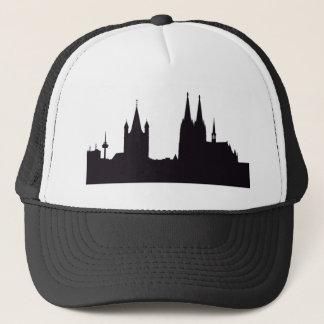 Cathedral Silhouette Trucker Hat
