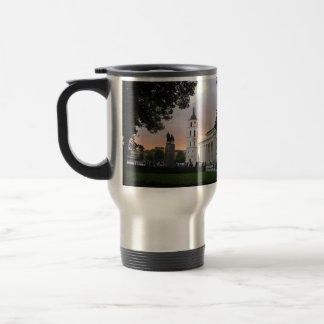 Cathedral Square in Vilnius, LITHUANIA --- Travel Mug