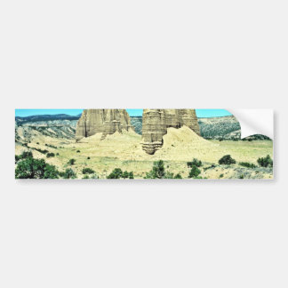 Cathedral Valley - Capitol Reef National Park Bumper Sticker